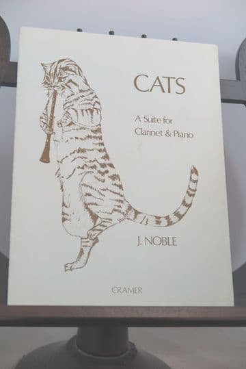 Noble J - Cats - A Suite for Clarinet & Piano